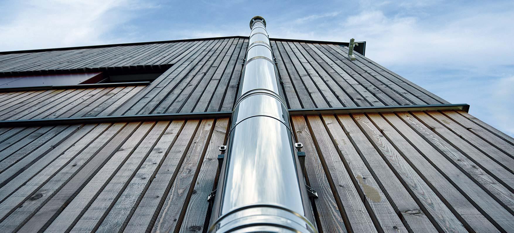 Qualitäts-Schornsteine aus Edelstahl bei Kaminstudio Duis Oer-Erkenschwick