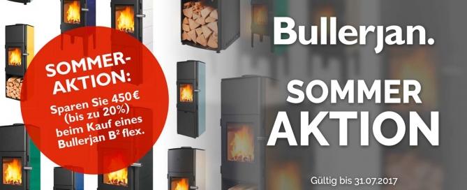 Sparen Sie bis zu 450€ mit der DUIS Bullerjan Sommeraktion