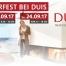Besuchen Sie uns zum Feuerfest bei Studio DUIS am 23.09. und 24.09.2017. Top Angebote im Jubiläumsjahr und 11% Rabatt auf alle Kaminöfen.