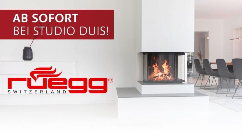 Rüegg Kamine ab sofort bei Studio DUIS in Oer-Erkenschwick kaufen!