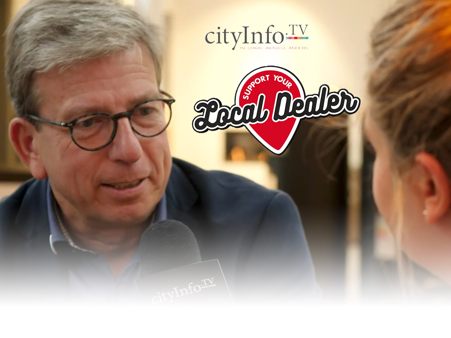 Studio DUIS bei Cityinfo.tv Support Your Local Dealer